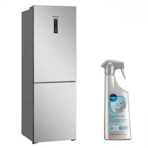 RÉFRIGÉRATEUR CLASSIQUE BRANDT Réfrigérateur frigo combiné inox 315L A++ F