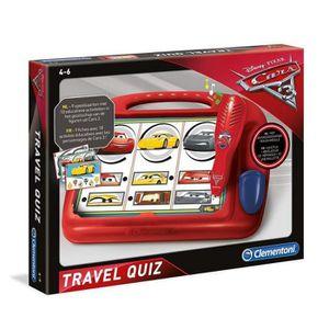 JEU D'APPRENTISSAGE jeu apprentissage Clementoni Cars 3 Quiz Voyage