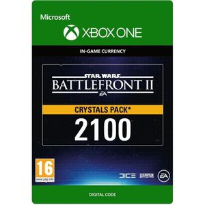 EXTENSION - CODE DLC Star Wars Battlefront II: 2100 Crystals pour X