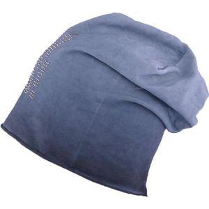 BONNET - CAGOULE Bonnet long bleu