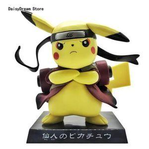 FIGURINE - PERSONNAGE Pokémon Figurine 13cm Pikachu NARUTO
