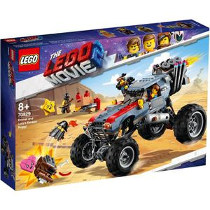 ASSEMBLAGE CONSTRUCTION LEGO® Movie 70829 Le buggy d'évasion d'Emmet et Lu
