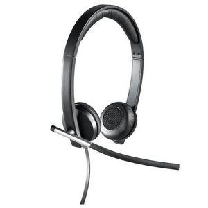CASQUE AVEC MICROPHONE Logitech 981-000519 Casque PC H650e Noir, Argent U