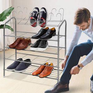 MEUBLE À CHAUSSURES Étagère à Chaussures | pour 18 Paires de Chaussure