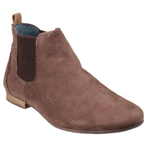 BOTTINE Divaz Pisa - Bottines - Femme Taupe