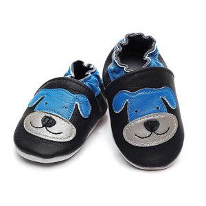 CHAUSSON - PANTOUFLE Chaussons Bébé Cuir Souple Chaussures Premiers Pas