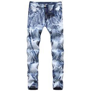 JEANS Jeans Homme Slim Fit Casual Délavé Pantalon Homme