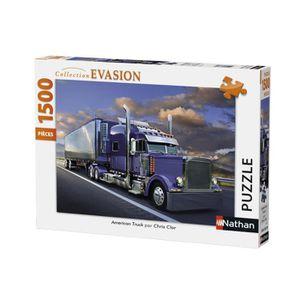 PUZZLE Puzzle 1500 pcs American Truck