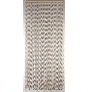 RIDEAU DE PORTE Rideau de porte perles en bois - Dim : 90 x 200 cm