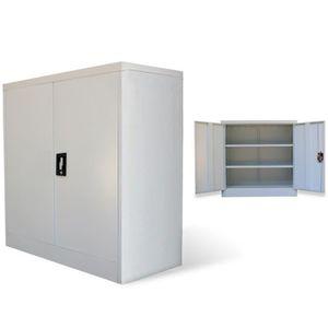 ARMOIRE DE BUREAU Armoire métallique de bureau avec 2 portes en Acie
