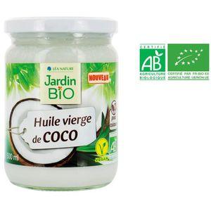 HUILE JARDIN BIO Huile vierge de coco bio - 500 ml