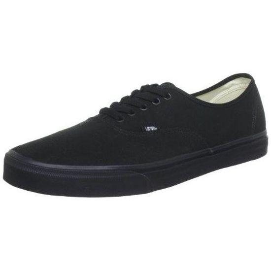 Vans Authentic, Chaussures mixte adulte - Noir … Noir - Cdiscount ...