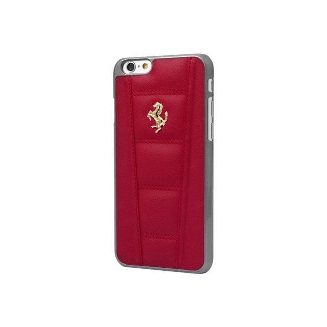 Ferrari 458 Coque en cuir pour iPhone 6 Plus/6S Plus Rouge