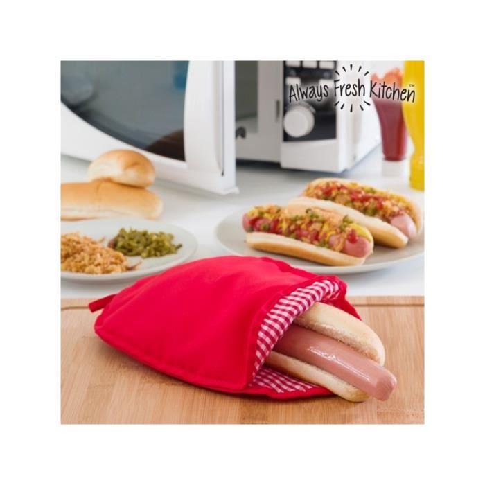Sac de Cuisson Hot Dogs pour Micro ondes Always Fresh Kitchen
