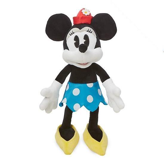Peluche douce Disney Minnie Mouse Vintage officielle