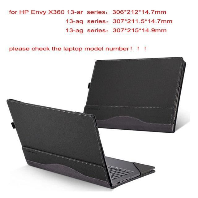 Sacoches & Housses Ordinateur,Housse d'ordinateur portable détachable pour Hp Envy X360 13.3 pouces - Type grey-envy 13-ad series
