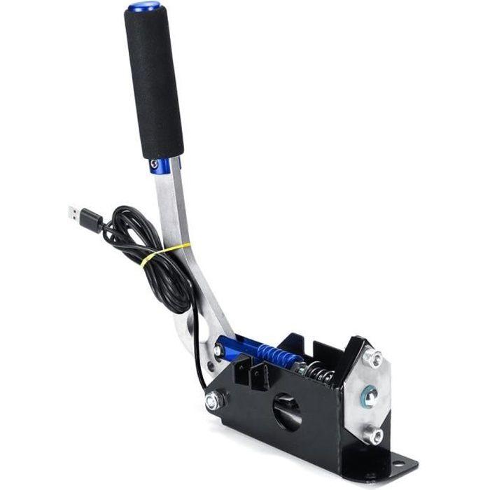 Pièces Auto,Logitech G27, G29, T300, pince de frein à main USB, PC Windows, pour jeu de course Sim, FANATEC, pour LFS - Type Blue
