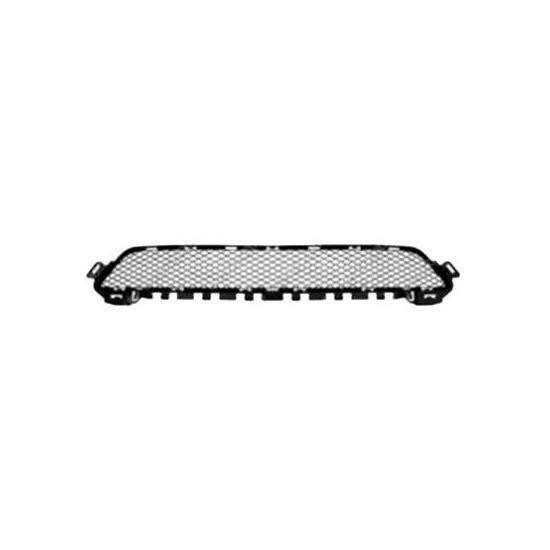Grille de calandre centrale pour MERCEDES (W205) CLASSE C ph. 1 2014-2018, Noire, Neuve.