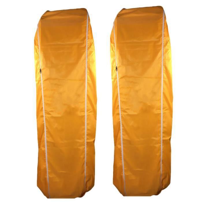 2 conteneurs de stockage étanche pour sac de carcasse pour l'extérieur ASPIRATEUR TRAINEAU