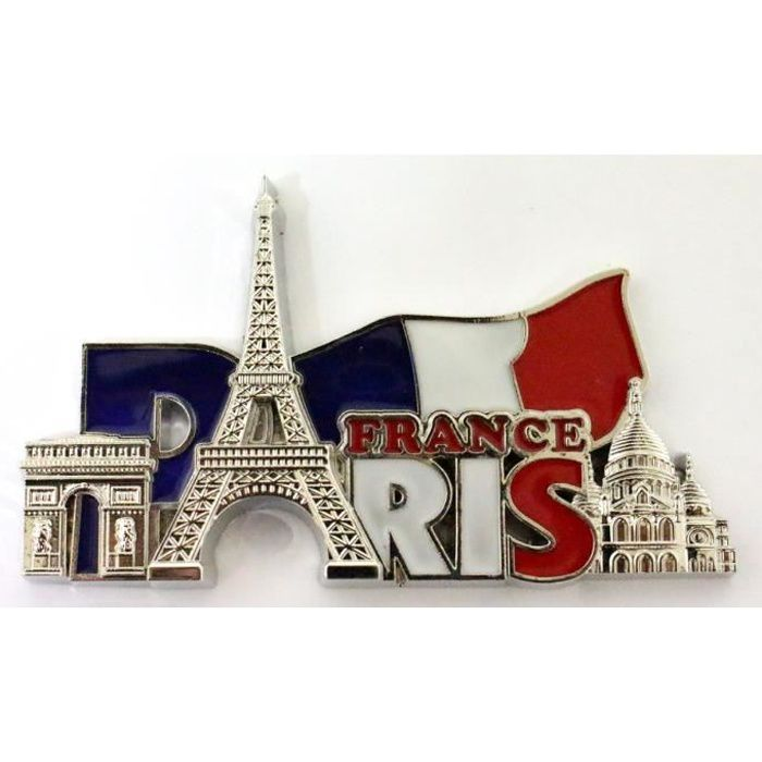 GIFTSTICY H140 Lyon Aimant pour Le Frigo France Travel Fridge Magnet