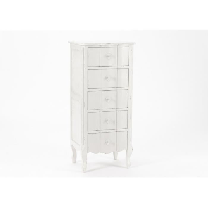 chiffonnier amadeus achat vente chiffonnier amadeus pas cher cdiscount. Black Bedroom Furniture Sets. Home Design Ideas