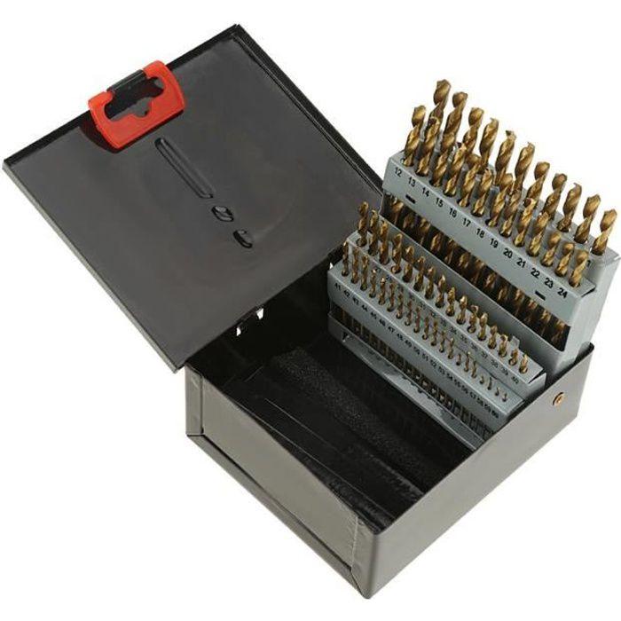 6Pcs Kit de Forets /à Centrer HSS 60/° /Ø 1//1.5//2//2.5//3//5mm pour M/étal