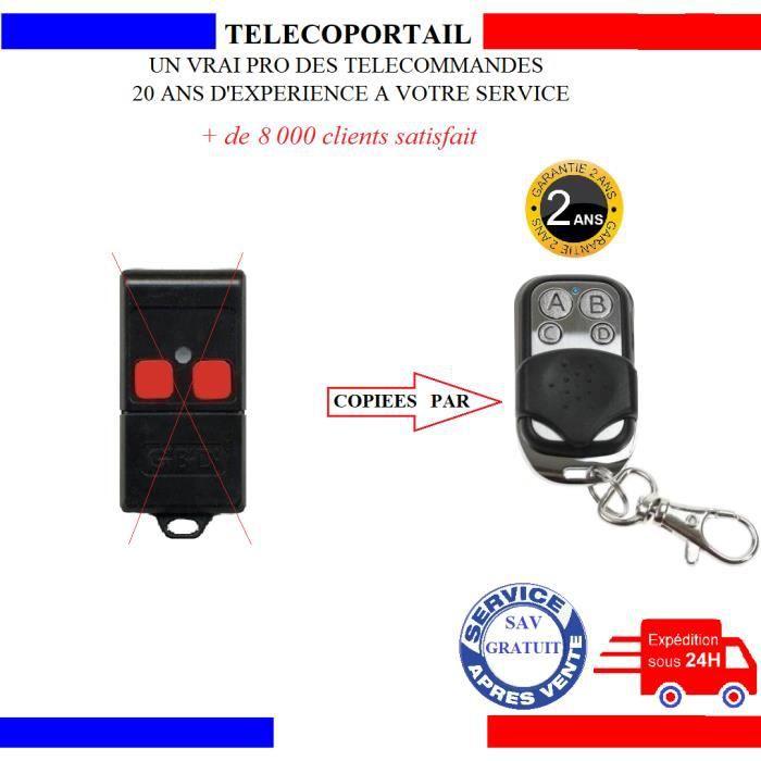 TELECOMMANDE COPIEUSE PROTECO Tous MODELES en 433.92MHZ
