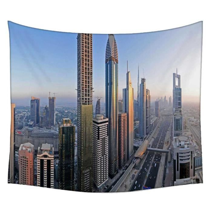 Bâtiment Incroyable à Dubaï Rideau Mandala Achat Vente