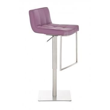 tabouret de bar design scolastica violet achat. Black Bedroom Furniture Sets. Home Design Ideas