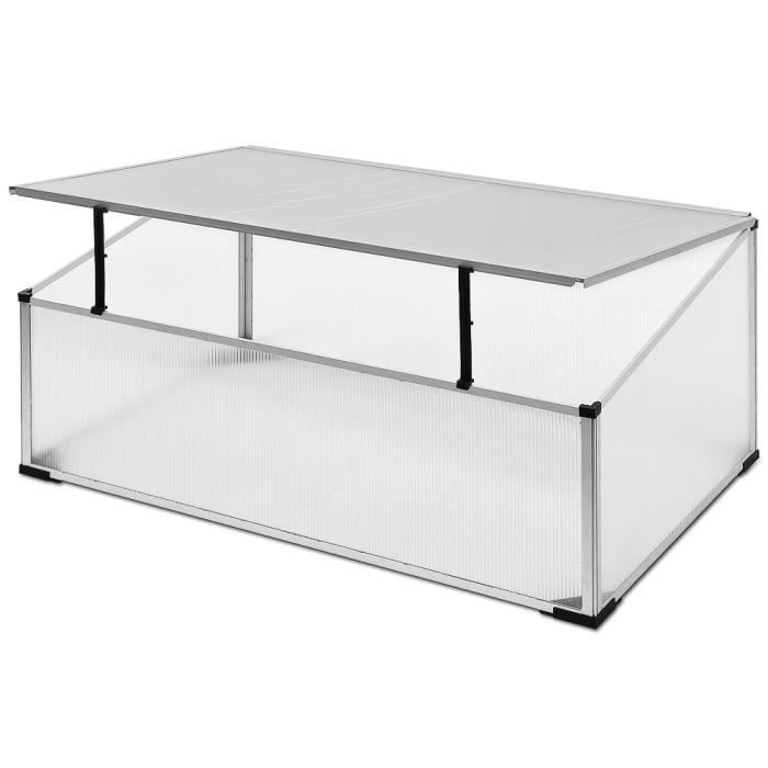 mini serre de jardin ch ssis semis 100x60cm 0 6 m achat vente serre de jardinage mini serre. Black Bedroom Furniture Sets. Home Design Ideas