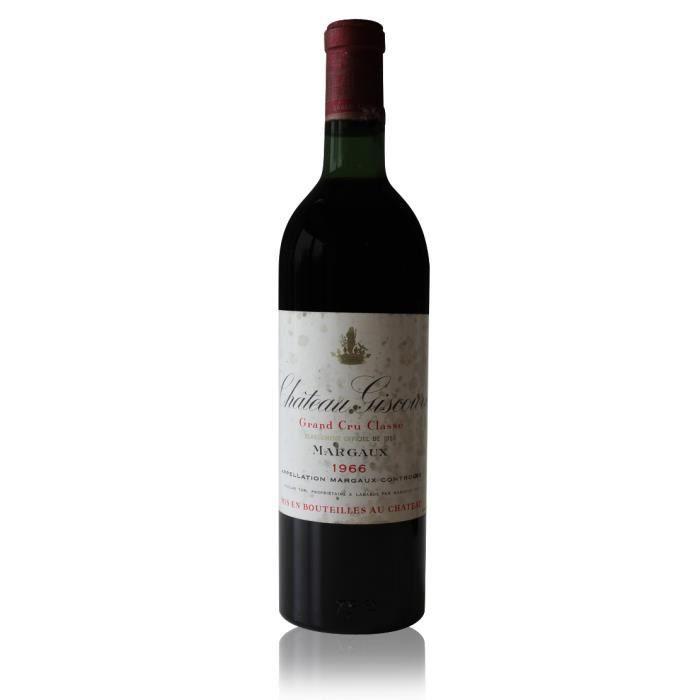 VIN ROUGE Château Giscours 1966 Rouge 75cl AOC Margaux