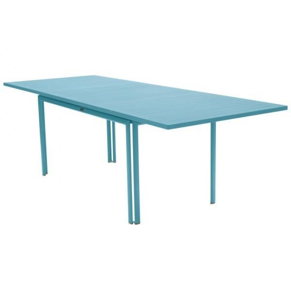 Mod le table de jardin rectangulaire extensible aluminium for Vente table jardin