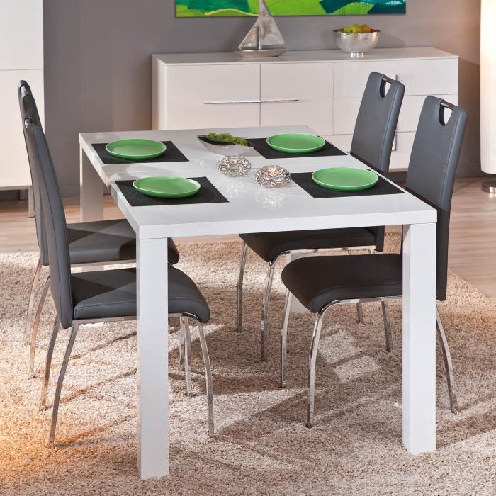 Table Rectangulaire Meuble Cuisine Salle Manger Design Extensible
