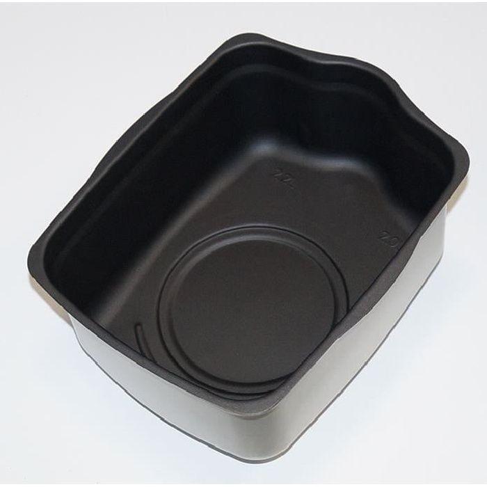 TCER colore Cuillère avec revêtement antidérapant fixe Poignée 3 pièces TOP