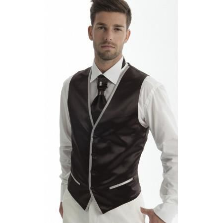 gilet lavalli re mariage homme adimo edwar noir achat vente gilet de costume. Black Bedroom Furniture Sets. Home Design Ideas