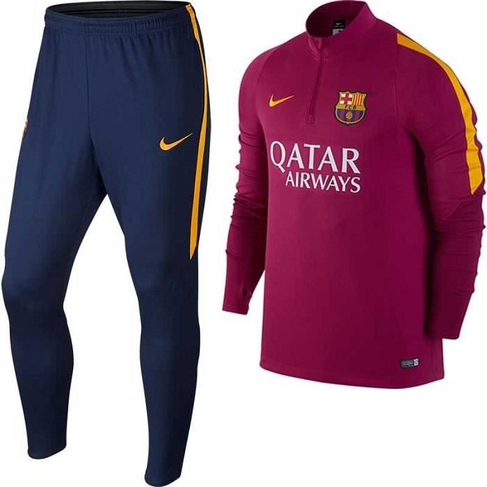 ensemble serre fc barcelone violet survetement maillot barca prix pas cher cdiscount. Black Bedroom Furniture Sets. Home Design Ideas
