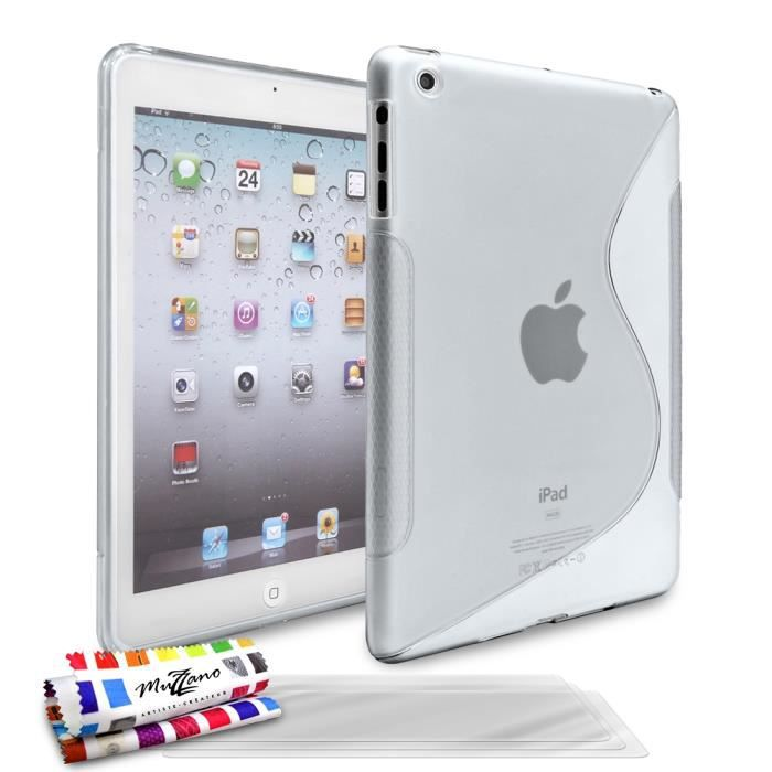 coque 3 films apple ipad mini 2 le s transparent prix pas cher cdiscount. Black Bedroom Furniture Sets. Home Design Ideas