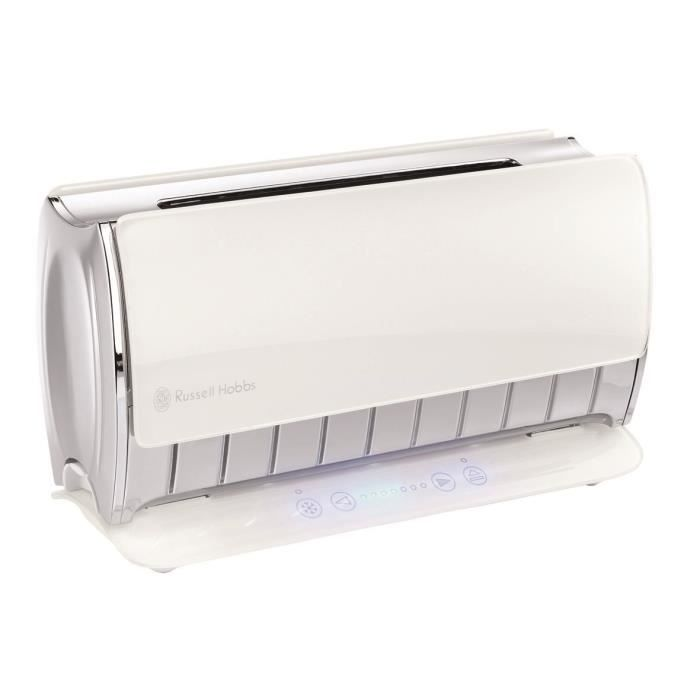 Grille pain russell hobbs glass touch 14390 8 achat vente grille pain toaster cdiscount - Grille pain russel hobbs ...