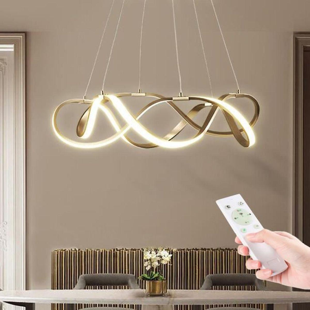 Lampe Plafond Salon Design plafonnier spirale