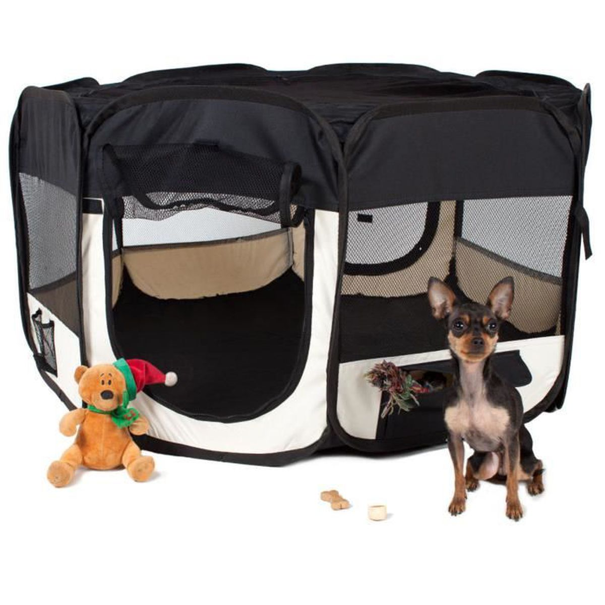 ENCLOS - CHENIL GOOD - Parc pliable à chiots chien chaton chat lap