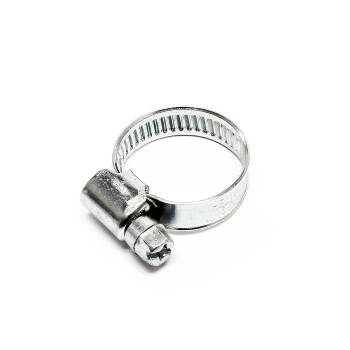32 mm Acier Inoxydable 316 câble caoutchouc doublé Collier Serrage P Clip Pack de 10 W5