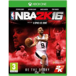 JEU XBOX ONE NBA 2K16 Jeu Xbox One
