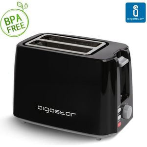 GRILLE-PAIN - TOASTER Aigostar Warrior 30JRL - Grille-pain fentes extra-