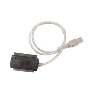 CÂBLE D'ALIMENTATION USB 2.0 vers IDE SATA 2.5 3.5 Disque dur HD HDD Ad