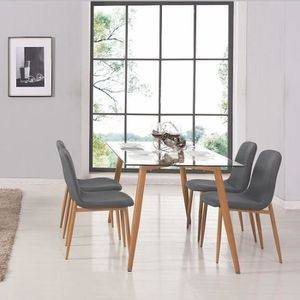 table chaises achat vente table chaises pas cher. Black Bedroom Furniture Sets. Home Design Ideas