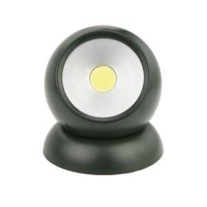 ECLAIRAGE DE MEUBLE COB LED mur Commutateur d'éclairage de la batterie