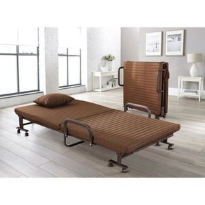 LIT PLIANT Lits pliants simples à 2 sections, fauteuil de lux