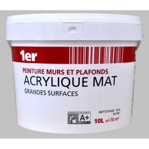 PEINTURE - VERNIS Peinture Murs et Plafonds Grandes Surfaces Mat - B