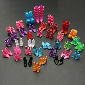 MAISON POUPÉE 60 Paires Chaussures Botte Sandale Cadeaux de fill