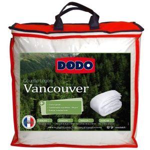 COUETTE DODO Couette légère Vancouver - 220 x 240 cm - Bla
